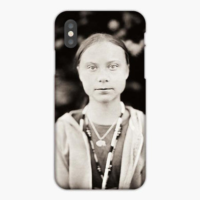 Coque iphone X XS Max XR Greta Thunberg Lost Nobel Because Of Climate Change