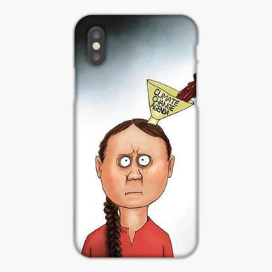 Coque iphone X XS Max XR Greta Thunberg Youth For Climate Action