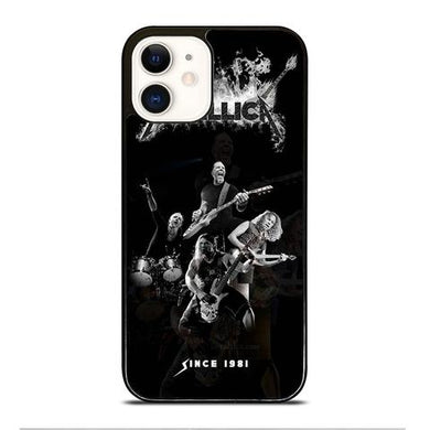 Coque iphone 12 mini pro max METALLICA ROCK BAND