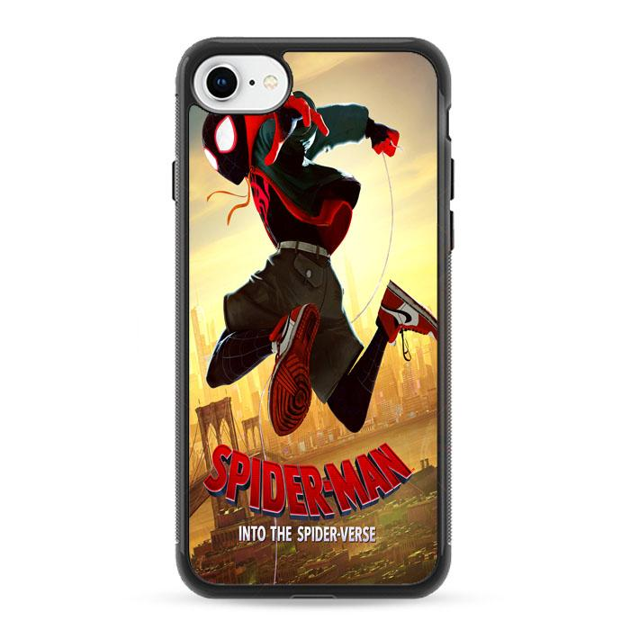 coque iphone 8 spiderman into the spider verse