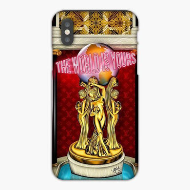 Coque iphone X XS Max XR The World Is Yours Kingdom