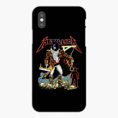 Coque iphone X XS Max XR Thrash Heavy Metal Bands