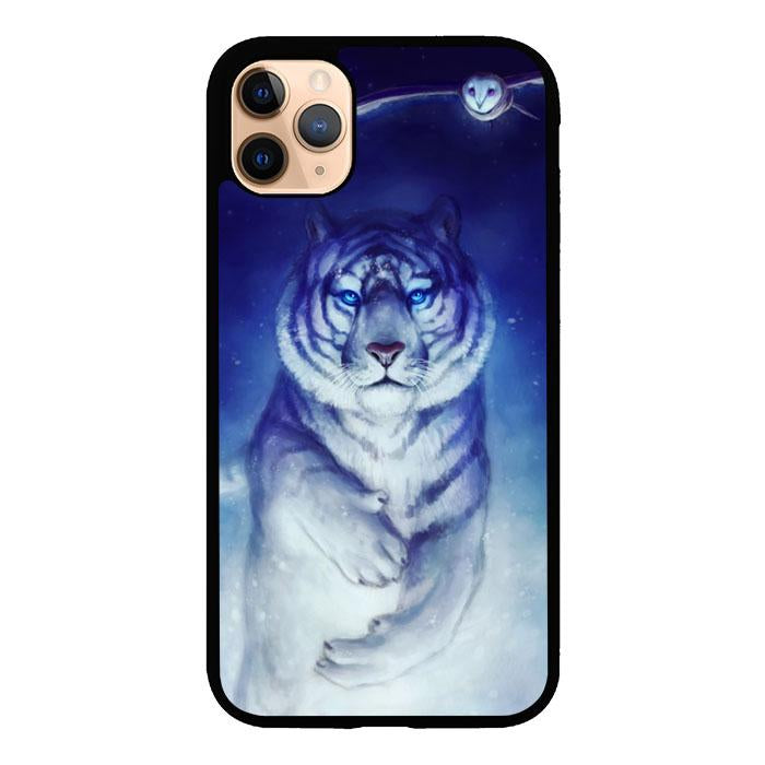 White Tiger Owl iPhone 11 Pro Max coque