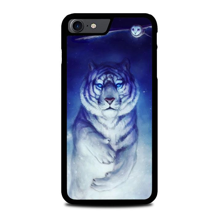 White Tiger Owl iPhone 7 , iPhone 8 coque