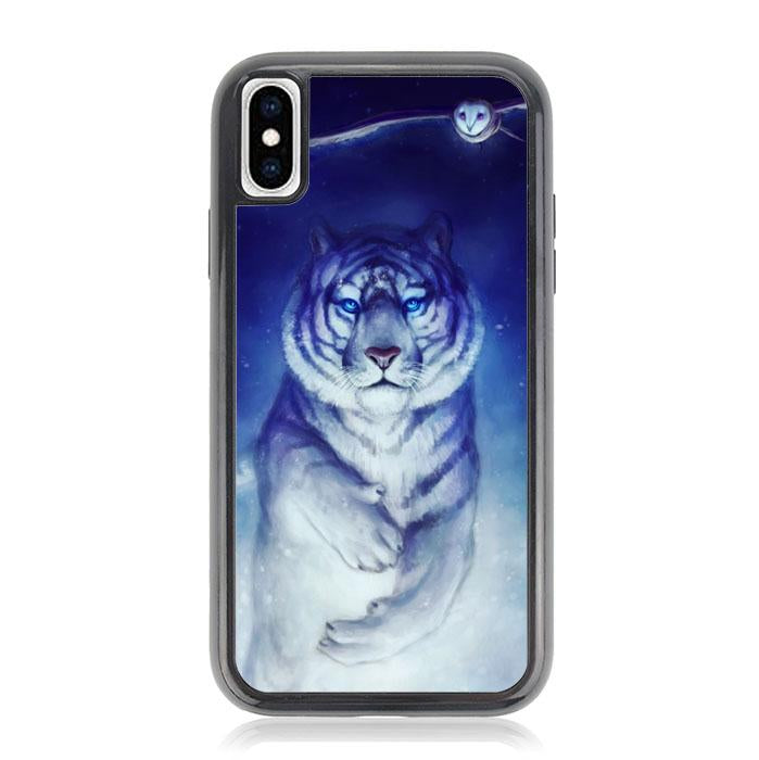 White Tiger Owl iPhone X, XS coque