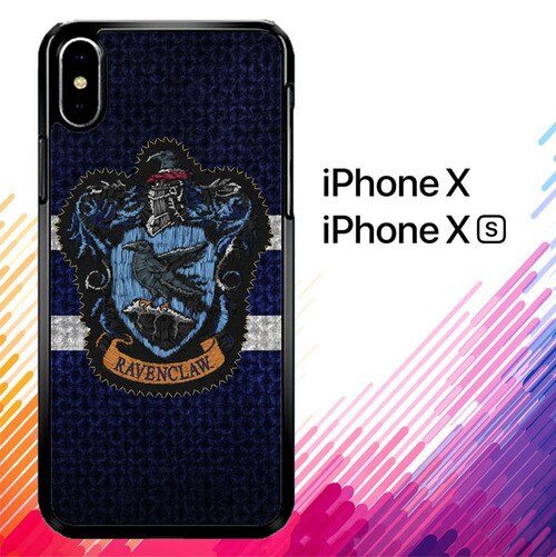 Harry Potter Knit Ravenclaw Wall Crest Logo F0185 coque iPhone X, XS