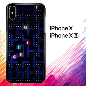 Pacman Game Z0602 coque iPhone X, XS