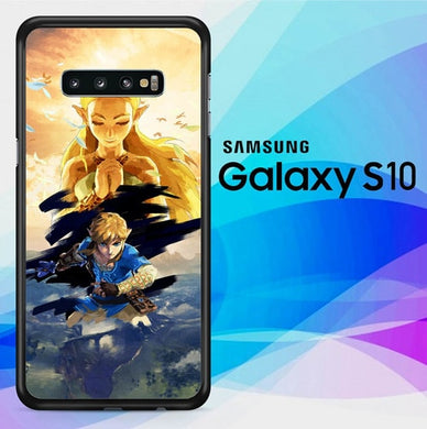 zelda breath of the wild Z4316 coque Samsung Galaxy S10