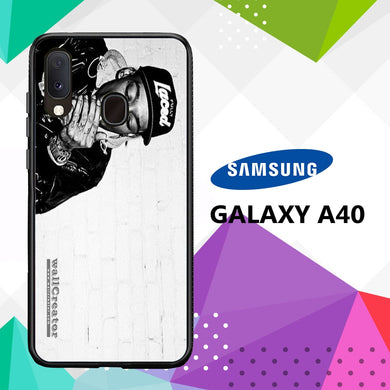 coque case samsung galaxy a40 B3588 Wiz Khalifa Wallpaper 100xZ7