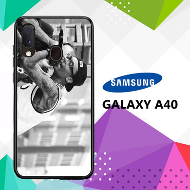 coque case samsung galaxy a40 C5287 Wiz Khalifa Wallpaper 100vM5