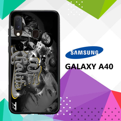 coque case samsung galaxy a40 D0350 Wiz Khalifa Wallpaper 100kN4