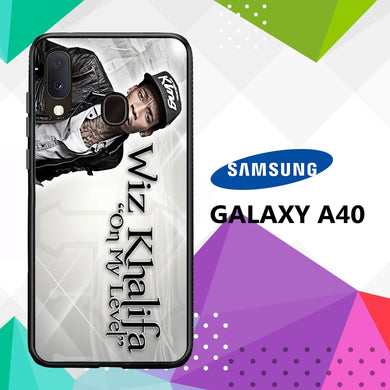 coque case samsung galaxy a40 D2451 Wiz Khalifa Wallpaper 100xW3
