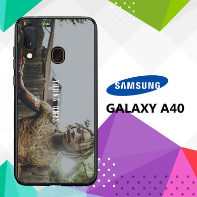 coque case samsung galaxy a40 E5840 Wiz Khalifa Wallpaper 100tQ6