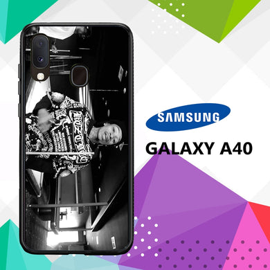 coque case samsung galaxy a40 E6554 Wiz Khalifa Wallpaper 100uJ6