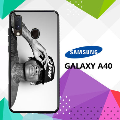 coque case samsung galaxy a40 E9302 Wiz Khalifa Wallpaper 100oN6