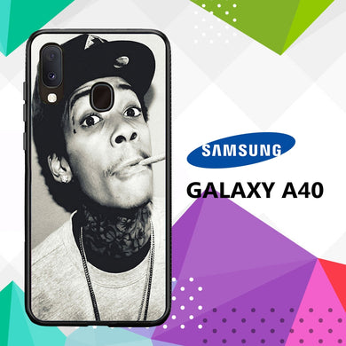 coque case samsung galaxy a40 J3132 Wiz Khalifa Wallpaper 100xV0