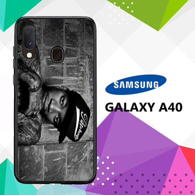 coque case samsung galaxy a40 M4712 Wiz Khalifa Wallpaper 100cV1