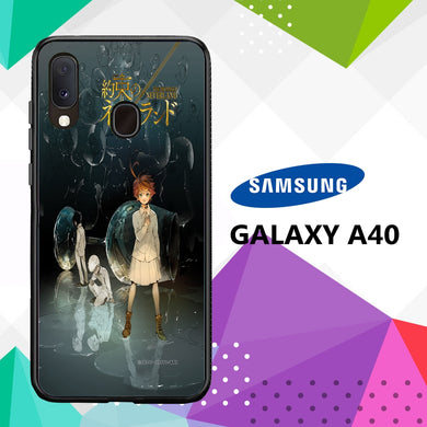 coque case samsung galaxy a40 N4027 The Promised Neverland 88lP5