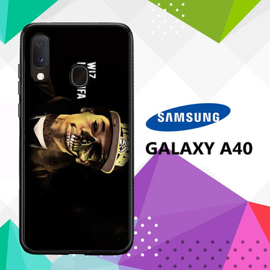 coque case samsung galaxy a40 T5332 Wiz Khalifa Wallpaper 100jY2