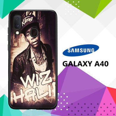 coque case samsung galaxy a40 V1335 Wiz Khalifa Wallpaper 100lI4