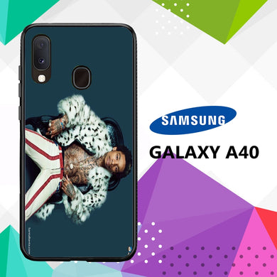 coque case samsung galaxy a40 V2484 Wiz Khalifa Wallpaper 100tE9