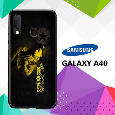 coque case samsung galaxy a40 W1374 Wiz Khalifa Wallpaper 100bI0