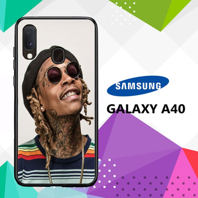 coque case samsung galaxy a40 Z3569 Wiz Khalifa Wallpaper 100bB4