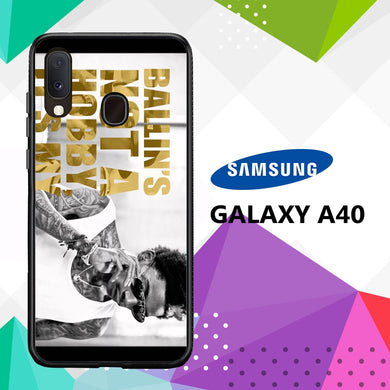 coque case samsung galaxy a40 Z5265 Wiz Khalifa Wallpaper 100kF5