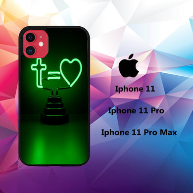 coque iphone 11 pro max case E9826 neon wallpaper 50sQ7