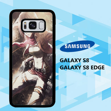 coque samsung galaxy S6 S7 S8 S9 S10 edge case E2456 levi ackerman wallpaper 140mM4