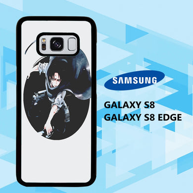 coque samsung galaxy S6 S7 S8 S9 S10 edge case H1705 levi ackerman wallpaper 140cM9
