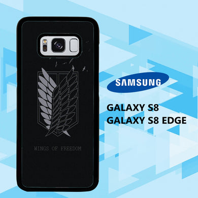 coque samsung galaxy S6 S7 S8 S9 S10 edge case T2182 levi ackerman wallpaper 140gL1