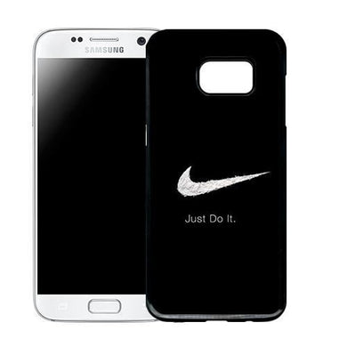 Coque Samsung galaxy s7 Edge Nike Noir Just Do it