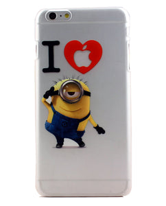 coque iphone 4 minion relief