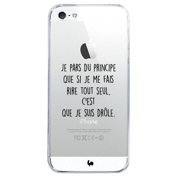 coque iphone 5 phrase drole