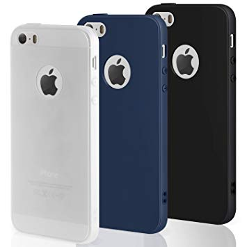 coque iphone 5 silicone noir