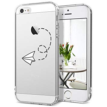 coque iphone 5 transparente avec motif