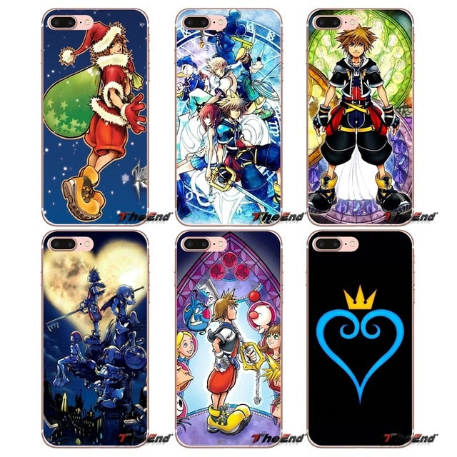 coque iphone 8 kingdom hearts iii