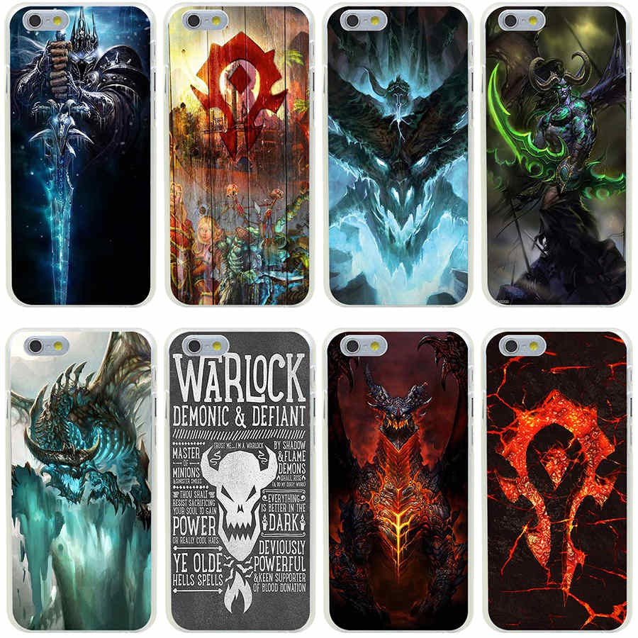 coque iphone 8 wow alliance