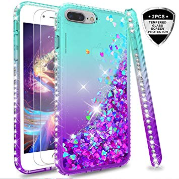 coque iphone 7 plus silicone fille
