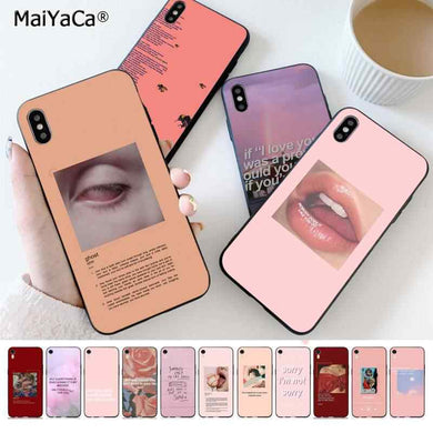 coque iphone 8 aesthetic pink