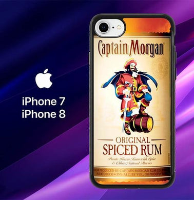 coque iphone 8 captain morgan