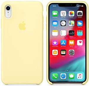 coque iphone xr jaune fluo