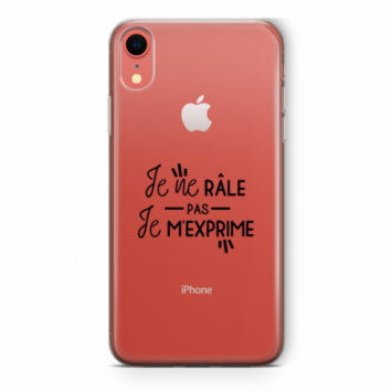 coque iphone xr phrase drole