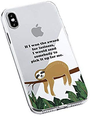 coque iphone xr sloth