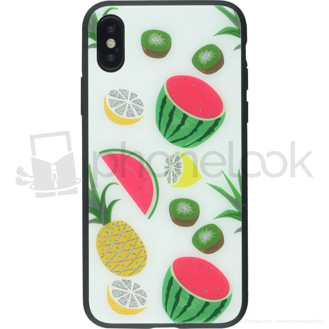 coque iphone xs max fruit