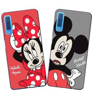 coque samsung galaxy a7 2018 silicone minnie