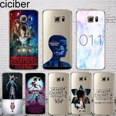 Coque Samsung Galaxy S7 Edge Stranger Things Alphabet