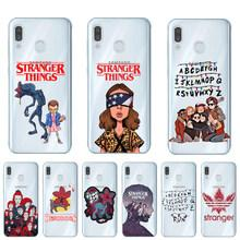 coque stranger things telephone samsung a10