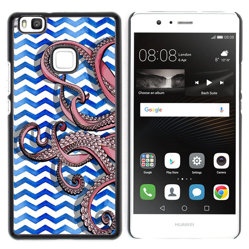 coque telephone huawei p9 pieuvre